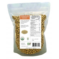 USA Grown Organic Garbanzo Beans 'Chickpeas' 'Kabuli Chana' Raw/Non-GMO/Kosher Restaurant Bulk (10LB) - Baltoro Foods